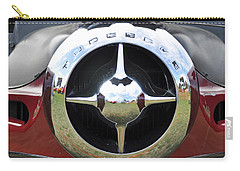 Carry-all Pouch featuring the photograph Studebaker Chrome by Glenn Gordon