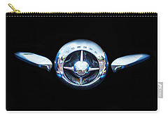 Studebaker In Black Carry-all Pouch by Steven Parker