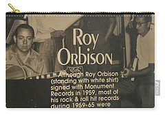 Studio B Roy Orbison  Carry-all Pouch