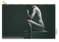 Studio Nude Seated Carry-all Pouch
