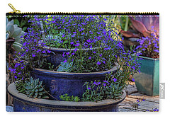 Study In Blue Carry-all Pouch