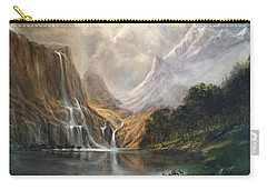 Carry-all Pouch featuring the painting Study In Nature by Donna Tucker