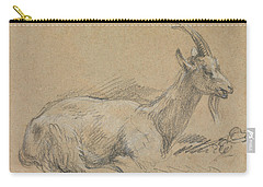 Study Of A Goat Carry-all Pouch