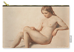 Study Of A Nude Carry-all Pouch by William Mulready