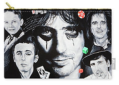 Carry-all Pouch featuring the painting Study Of Alice by Igor Postash