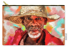 Study Of An Old Man Carry-all Pouch