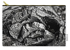 Stump Texture Carry-all Pouch