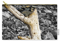 Stump With Rocks - Ogunquit - Maine Carry-all Pouch