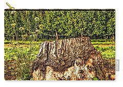Stumped In The Orchard Carry-all Pouch by Nancy Marie Ricketts