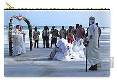 Stunning Kenya Beach Wedding Carry-all Pouch