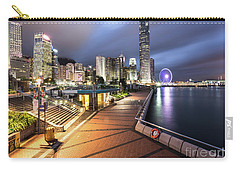 Stunning View Of Hong Kong Central Business District Skyscrapers Carry-all Pouch