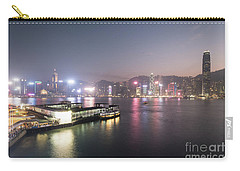 Stunning View Of The Twilight Over The Victoria Harbor And Star  Carry-all Pouch