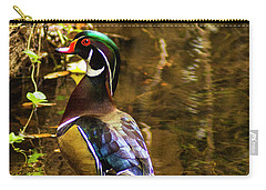 Stunning Wood Duck Carry-all Pouch