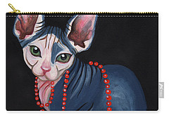 Stylish Sphynx Carry-all Pouch