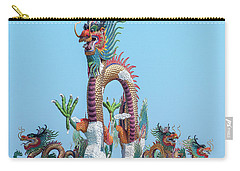Suan Sawan Golden Dancing Dragon Dthns0144 Carry-all Pouch