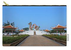 Carry-all Pouch featuring the photograph Suan Sawan Golden Dancing Dragon Dthns0145 by Gerry Gantt