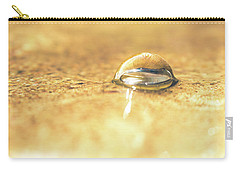 Submerged Snail Shell Carry-all Pouch