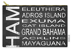 Eleuthera Art Carry-All Pouches