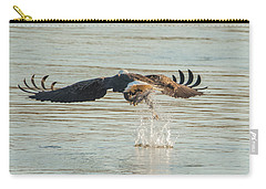 Carry-all Pouch featuring the photograph Success From Behind by Jeff at JSJ Photography