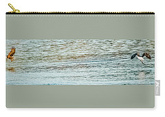 Carry-all Pouch featuring the photograph Successful Dynamic Duo Panoramic by Jeff at JSJ Photography