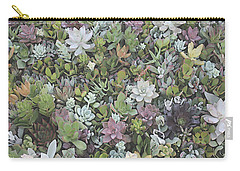 Succulent 8 Carry-all Pouch