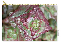 Succulent Abstract Carry-all Pouch by Russell Keating