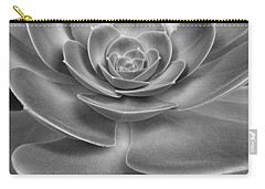 Succulent Bw Carry-all Pouch