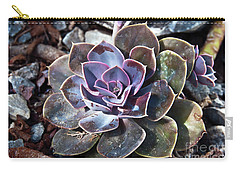 Succulent Plant Poetry Carry-all Pouch