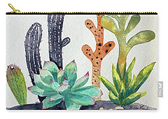 Succulents Desert Carry-all Pouch
