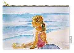 Such A Perfect Day  Carry-all Pouch by Trudi Doyle