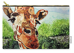 Carry-all Pouch featuring the painting Such A Sweet Face by Tom Riggs