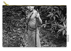 Carry-all Pouch featuring the photograph Sucua Kids 898 by Al Bourassa