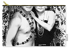 Carry-all Pouch featuring the photograph Sucua Shaman And Spouse by Al Bourassa