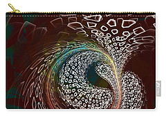 Carry-all Pouch featuring the digital art Sudden Outburst by Anastasiya Malakhova
