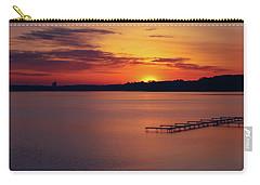 Carry-all Pouch featuring the photograph Sugar Beach Sunrise by Rachel Cohen