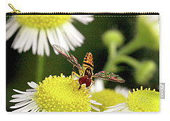 Sugar Bee Wings Carry-all Pouch by Meta Gatschenberger
