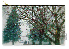 Carry-all Pouch featuring the photograph Sugar-coated by Elfriede Fulda
