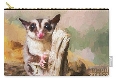 Sugar Glider - Painterly Carry-all Pouch