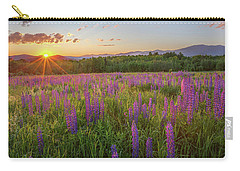 Sugar Hill New Hampshire Lupine Carry-all Pouch