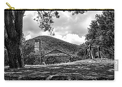 Sugar Plantation Ruins Bw Carry-all Pouch