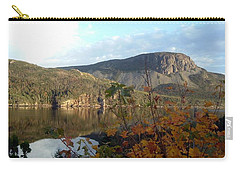 Sugarloaf Hill In Autumn Carry-all Pouch by Barbara Griffin