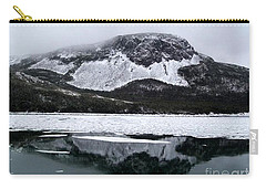 Sugarloaf Hill Reflections In Winter Carry-all Pouch by Barbara Griffin