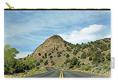 Carry-all Pouch featuring the photograph Sugarloaf Mountain In Six Mile Canyon by Benanne Stiens