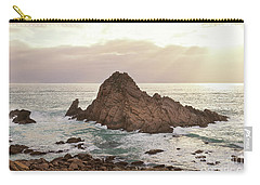 Carry-all Pouch featuring the photograph Sugarloaf Rock Sunset by Ivy Ho