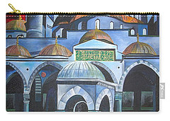Sultan Ahmed Mosque Istanbul Carry-all Pouch by Tracey Harrington-Simpson