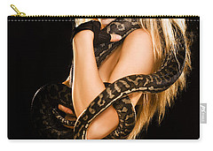 Sultry Sedutive Snake Dancer Carry-all Pouch