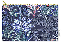 Sumatran Tiger, Blue Carry-all Pouch