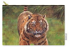 Sumatran Tiger Running Carry-all Pouch