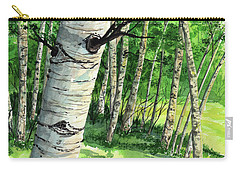 Summer Aspen Carry-all Pouch