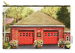 Summer At E7 Fire Station Carry-all Pouch